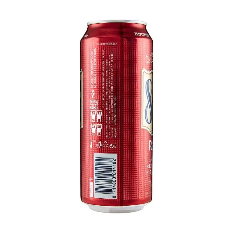 8.6 Red 500 ml